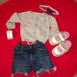 Complete super cute outfit!!! For baby girl